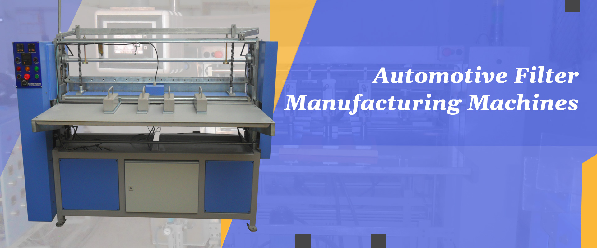 Automotive Filter  Manufacturing Machines