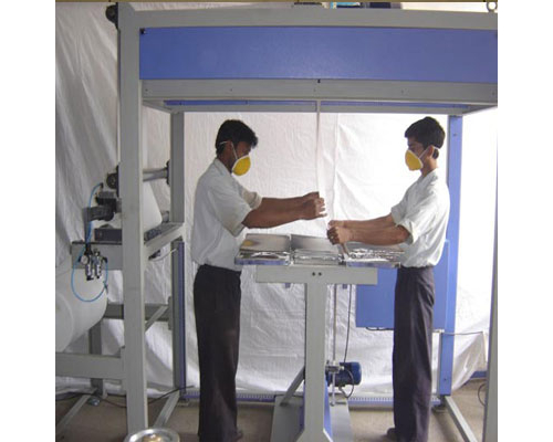HEPA Paper Pleating Machine In Kurung Kumey