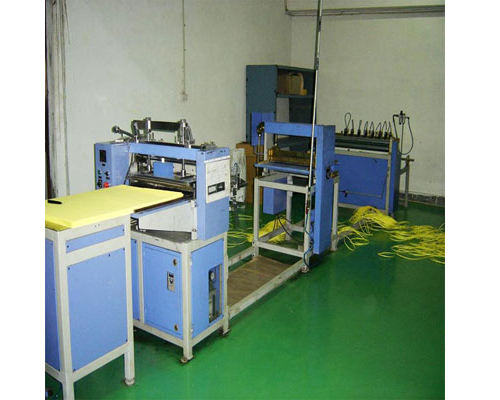 Knife Pleating Machine with Online Slitting In Vadodara
